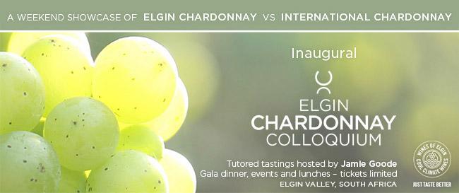 The inaugural Elgin Chardonnay Colloquium